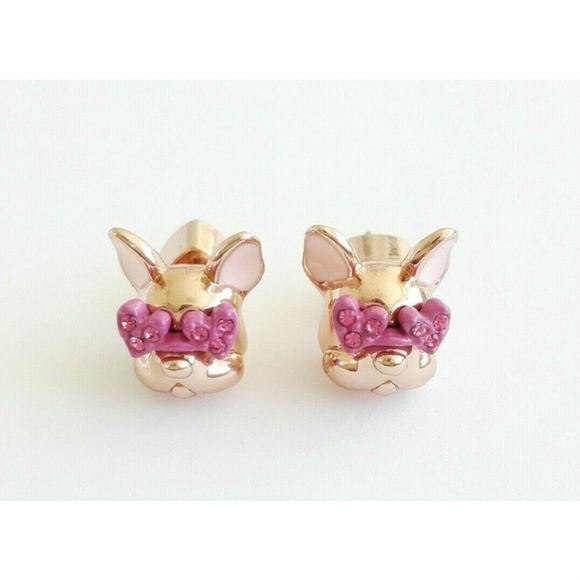 kate spade Jewelry - KATE SPADE Francois French Bulldog Stud Earrings